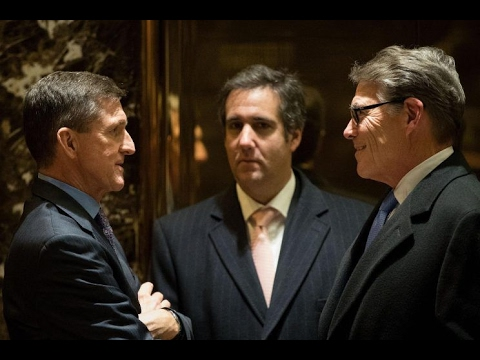 SHOCK: Trump Lawyer Handed Michael Flynn Plan to Lift Russian Sanctions