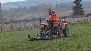 Kosiarka ogrodowa własnej roboty