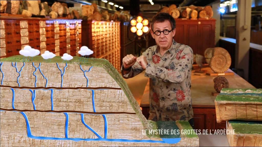 Download Le mystere des grottes de l'ardèche - C'est pas sorcier