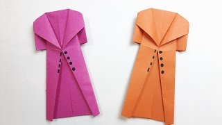How to make a paper Coat?