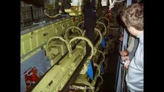 Inside Russian Submarine - Typhoon Class (Akula)