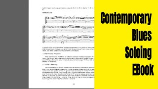Contemporary Blues Soloing - EBook (now www.TrueGuitarist.com)