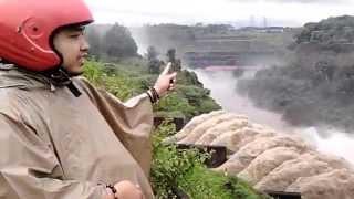 Pintu Bendungan Mrican Banjarnegara dibuka akibat Sungai Serayu banjir