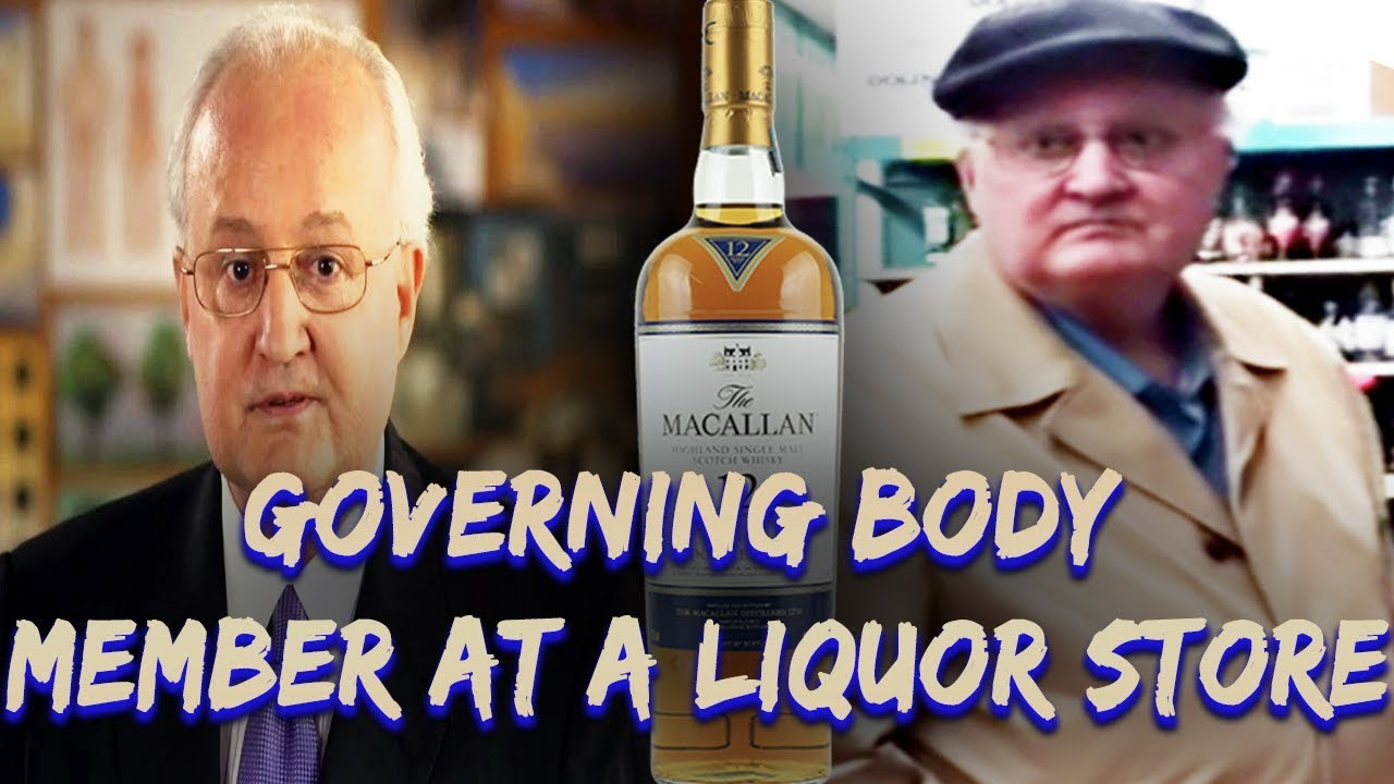 Bottlegate: Jehovah's Witness Governing Body Member At A Liquor Store