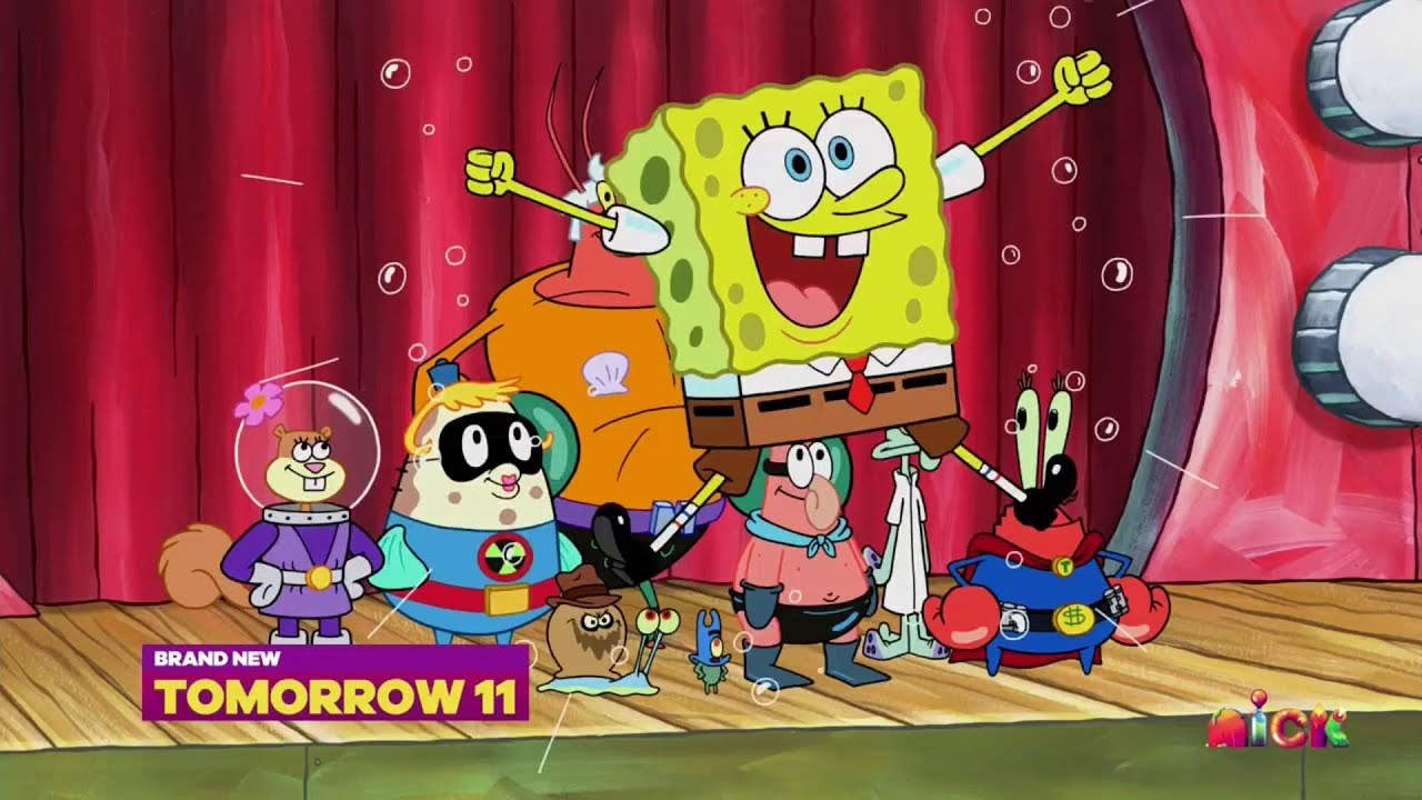 "spongebob squarepants - ""sunday spongeday"" (new episodes!) promo"