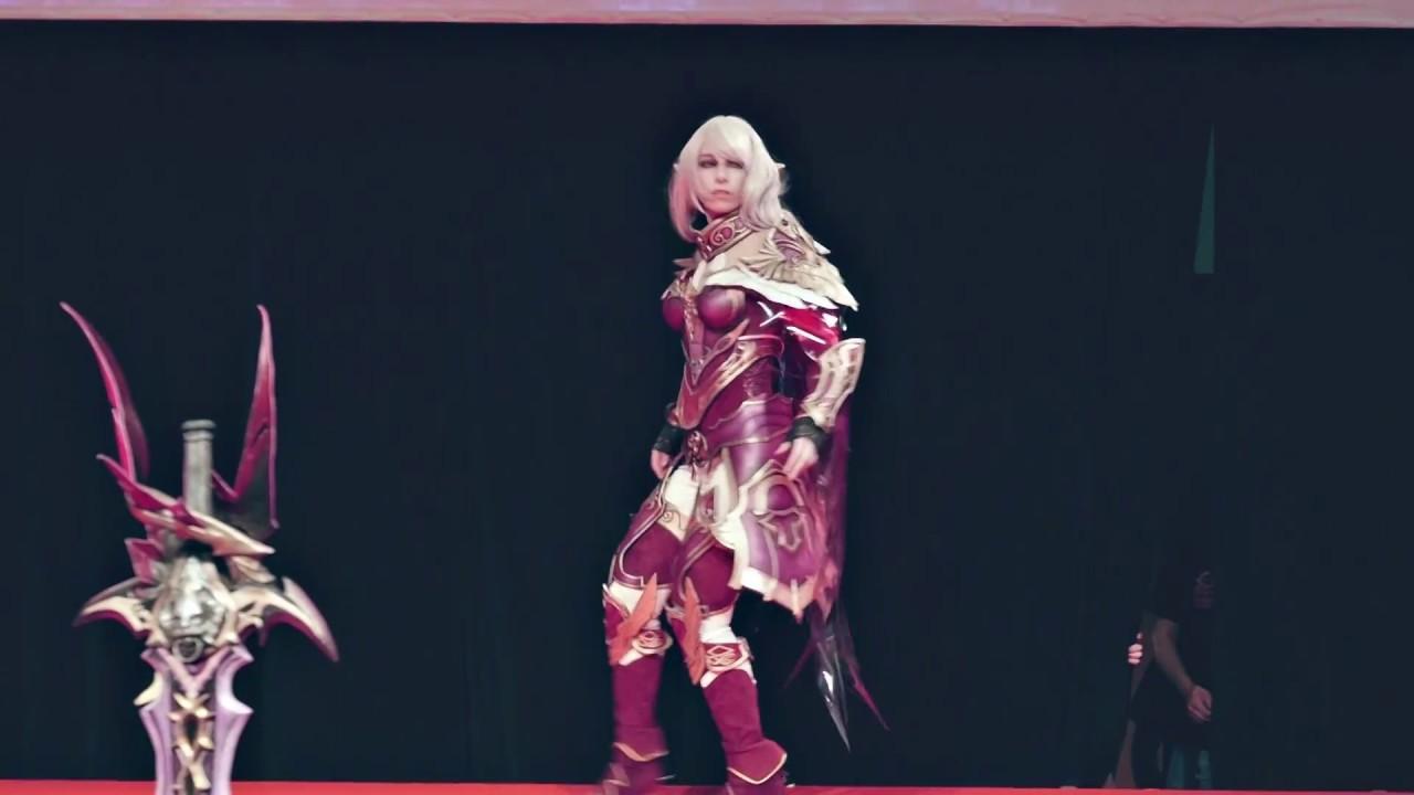 Aion Cosplay mastarius armor (aion) - coupe de france cosplay cgc 2017 - youtube