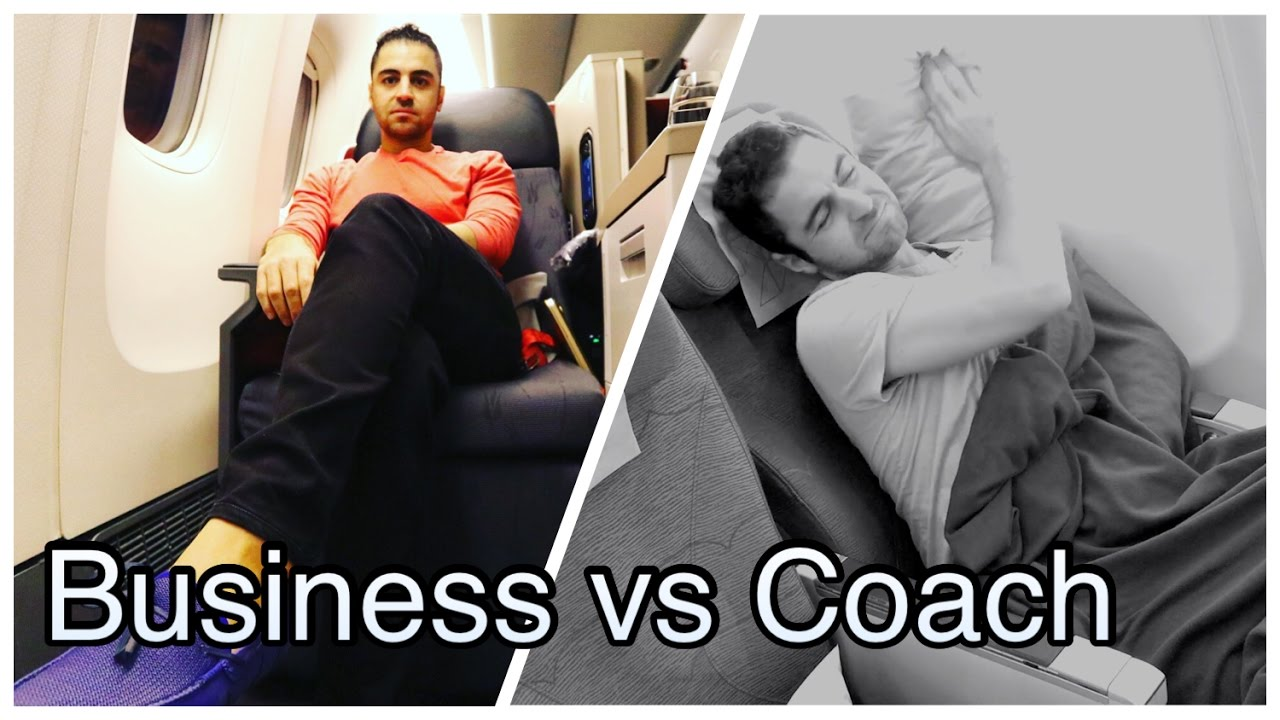 Business Vs Coach Turkish Airline Business Class Review Youtube