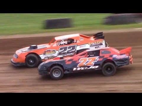 Street Stock Heat Four | McKean County Family Raceway | 7-3-18