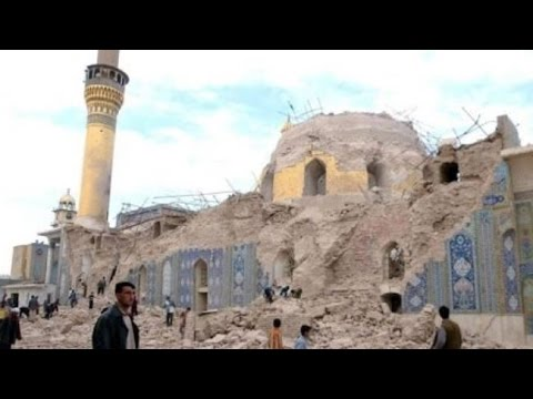 ISIL razes Shia shrines, Sunni mosques in Iraq