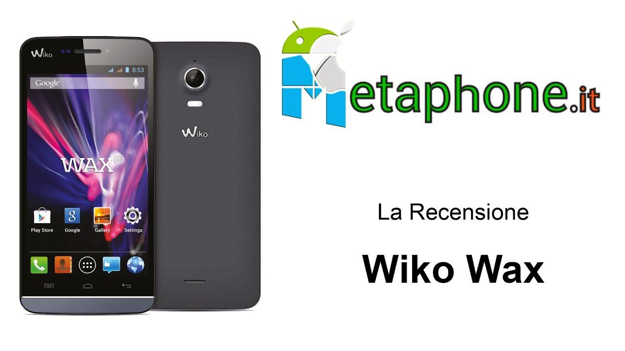 Recensione Wiko Wax
