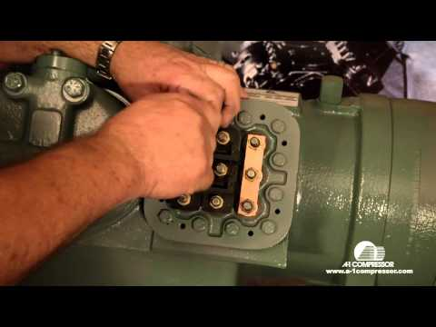 How To Wire a Carrier 06E 208/230 Volt 3 Phase Compressor