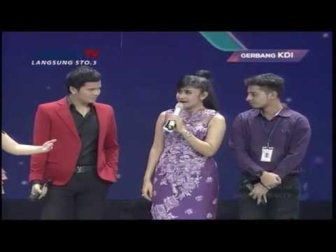 Juan Rahman Cemburu sama Bianca Liza - Gerbang KDI 2015 (18/4)