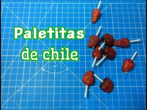 Paletitas de chile| Porcelana fría | Creative Jazz