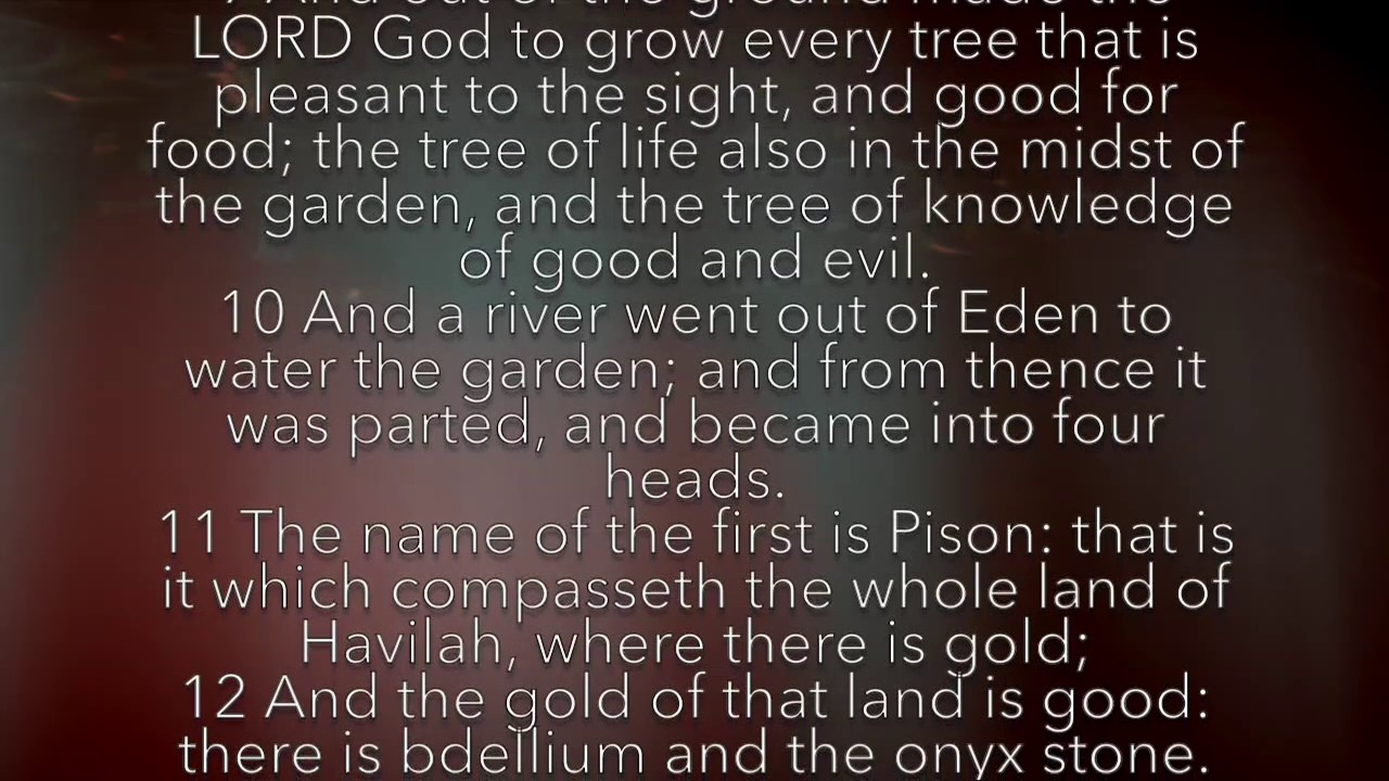 Genesis 2 7 Kjv