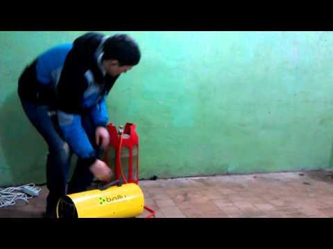 Прибор на все случаи жизни - тепловая газовая пушка