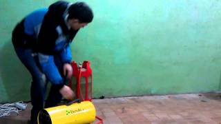видео Тепловые газовые пушки