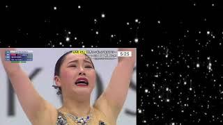 樋口新葉FS・銀メダル2位 世界フィギュアスケート選手権 女子FS 2018年3月23日 Wakaba Higuchi 樋口新葉 検索動画 5