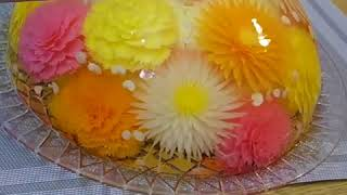Translucent flower cakes edible arts