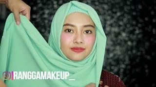 Tutorial Hijab Simple Buat Jalan | Rangga Makeup