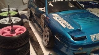 how to stretched tires rc drift
