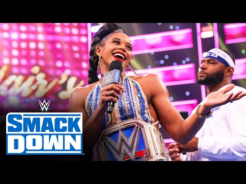 The Street Profits throw a victory party for Bianca Belair: SmackDown, April 16, 2021