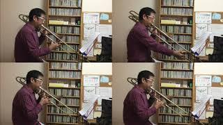 山口 かおり 作曲 Kaori Yamaguchi (composed) トロンボーン四重奏 Trom...