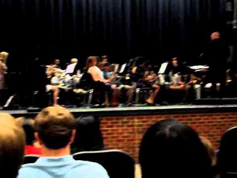 Abram's Pursuit - CHS Symphonic Band 2011
