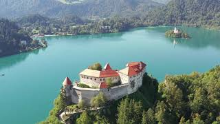 Cover images Slovenia - Bled - Castle & Lake