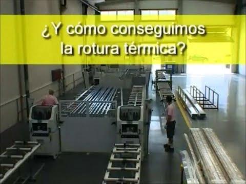 Rotura de puente t rmico youtube - Aluminios garcilaso ...