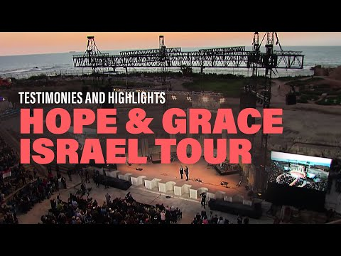 Pastor Joseph Prince At Hope & Grace Israel Tour 2018 By Trinity Broadcasting Network | Highlights