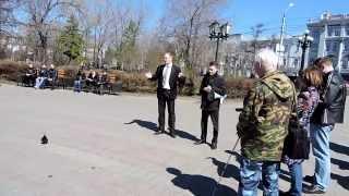 Омск за выборы мэра. Омск против Назарова.