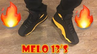 Melo 13's on feet review🔥🔥🔥 - YouTube