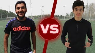 تحديات ضد فارس الحميد!!! | سوينا مقلب في المصورين😂🔥 | Football Challenges