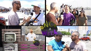 Once a Week 155 - Skateboarding NEWS Noticias