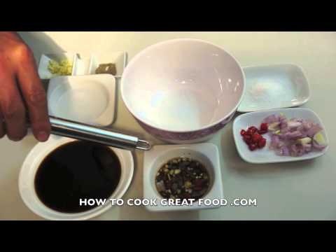 Paano magluto Dipping Sauce - Tagalog Pinoy Cooking