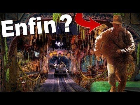 LA NOUVELLE ATTRACTION DE DISNEYLAND PARIS ?! Indiana Jones Adventure