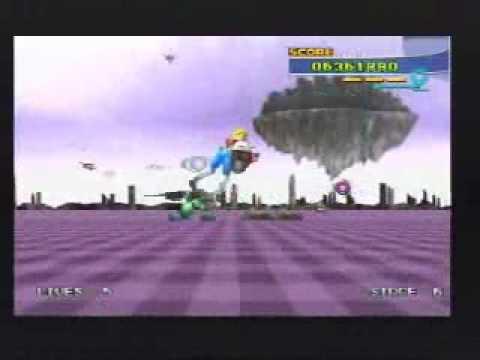PlayStation 2 - Sega Classics: Space Harrier 3D (Pt. 1/3)
