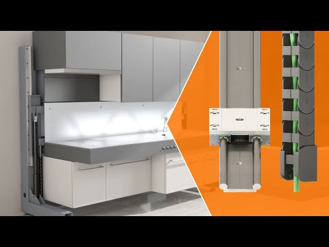igus solutions for kitchen and furniture applications