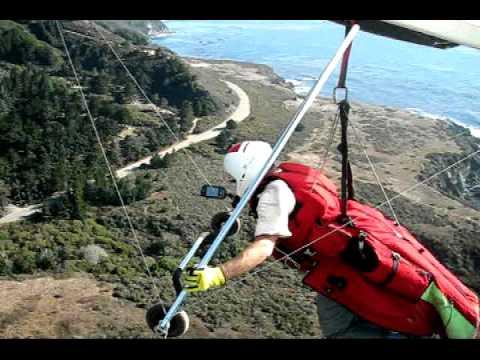 Hang gliding at Big Sur 2010