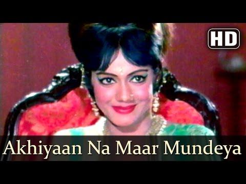 Akhiyaan Na Maar Mundeya (HD)  Sawan Bhadon Songs   Navin Nischol   Rekha   Asha Bhosle   Filmigaane