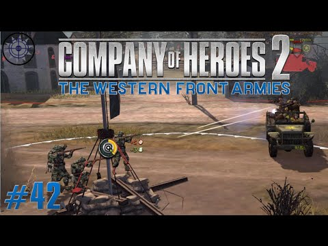 Company of Heroes 2 The Western Front Armies Online Commentary #42 US Military Trucks Counter Rush |