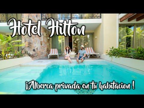 Hotel TODO INCLUIDO en Puerto Vallarta con alberca privada en tu habitación! / Hotel Hilton  / 4k