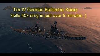 Kaiser Replay 3 kills 50k dmg Not Bad for 5mins in game :)