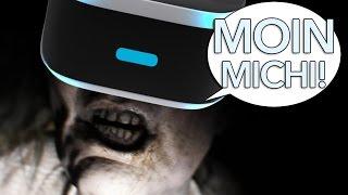VR schockt sehr - Resident Evil 7 - #MoinMichi - Folge 28