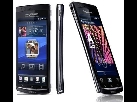 Sony Ericsson Xperia Arc Unboxing
