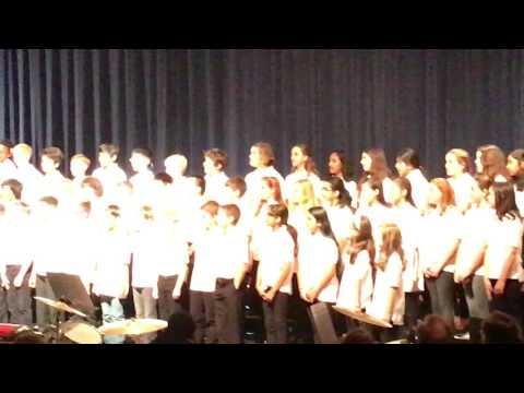 Rejoice and sing chorus by valley forge middle school