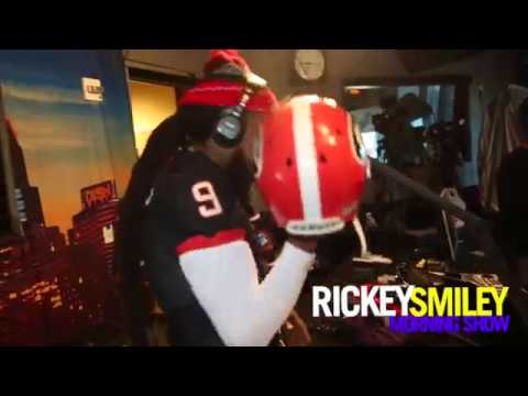 "Pastor Troy Visits ""The Rickey Smiley Morning Show"" During Headkrack & Da Brat's Flow & Go!"