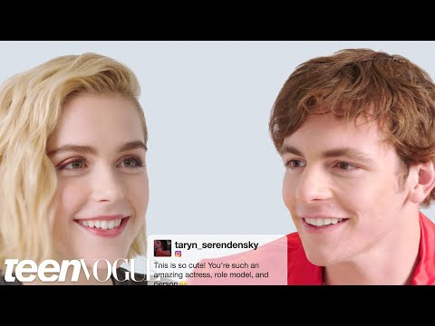 Kiernan Shipka and Ross Lynch Face-Off in a Compliment Battle  Teen Vogue
