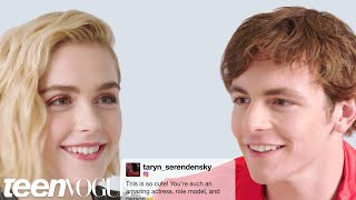 Kiernan Shipka and Ross Lynch Face-Off in a Compliment Battle | Teen Vogue