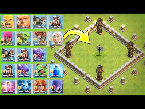 """THE ALL TROOP ROYAL RUMBLE!! """"A MUST WATCH"""" - Clash Of Clans - ALL TROOP TROLL ARMY!"""